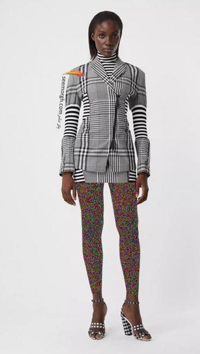مدل کت و دامن بربری Burberry برای پاییز 2020,کت و دامن پاییزه بربری از جدیدترین کلکسیون 2020
