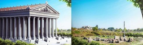 بقایای معبد آرتمیس ترکیه