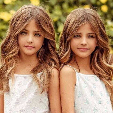 عکس خواهران دوقلو زیبا