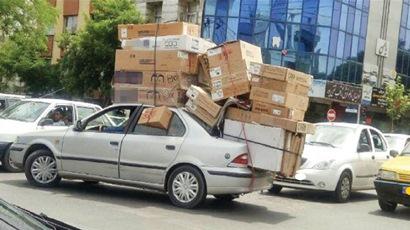 باربری با خودروهای لاکچری در تهران