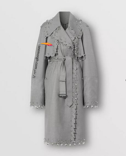 بارانی زنانه بربری Burberry برای پاییز 2020,بارانی,مدل بارانی,بارانی بربری