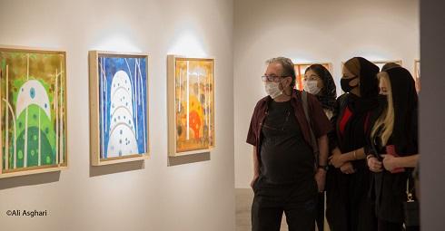 نمایشگاه آثار نقاشی داریوش مهرجویی