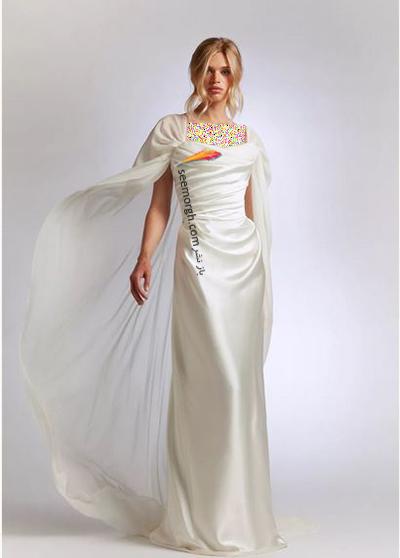 مدل لباس عروس ترند پاییز 2020 در دنیای مد - مدل شماره 15,لباس عروس,مدل لباس عروس,لباس عروس پاییزی