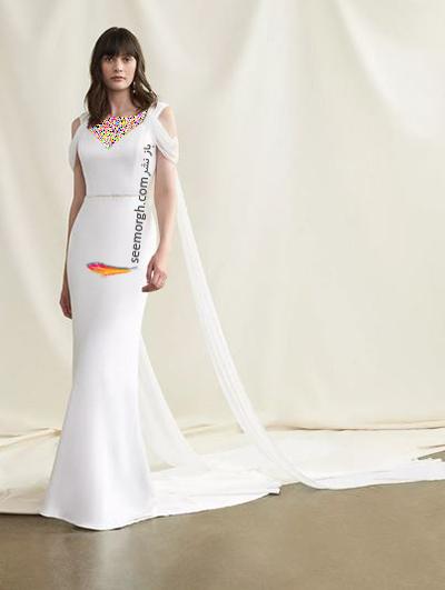 مدل لباس عروس ترند پاییز 2020 در دنیای مد - مدل شماره 14,لباس عروس,مدل لباس عروس,لباس عروس پاییزی