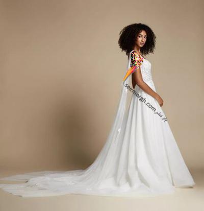 مدل لباس عروس ترند پاییز 2020 در دنیای مد - مدل شماره 12,لباس عروس,مدل لباس عروس,لباس عروس پاییزی