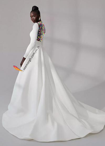 مدل لباس عروس ترند پاییز 2020 در دنیای مد - مدل شماره 11,لباس عروس,مدل لباس عروس,لباس عروس پاییزی