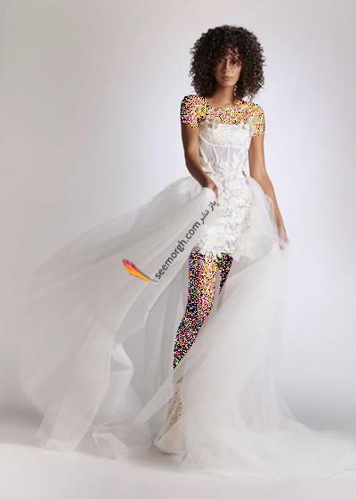 مدل لباس عروس ترند پاییز 2020 در دنیای مد - مدل شماره 9,لباس عروس,مدل لباس عروس,لباس عروس پاییزی