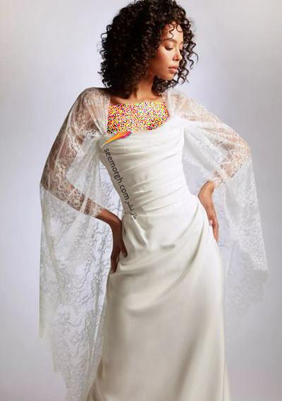 مدل لباس عروس ترند پاییز 2020 در دنیای مد - مدل شماره 8,لباس عروس,مدل لباس عروس,لباس عروس پاییزی