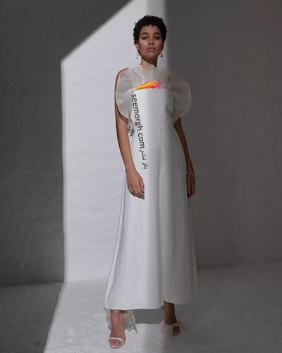 مدل لباس عروس ترند پاییز 2020 در دنیای مد - مدل شماره 6,لباس عروس,مدل لباس عروس,لباس عروس پاییزی