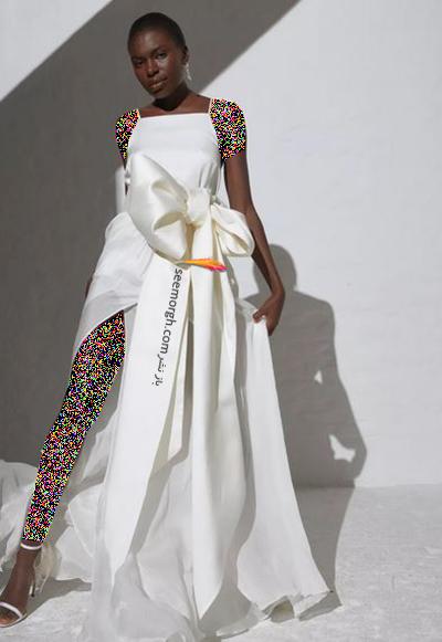 مدل لباس عروس ترند پاییز 2020 در دنیای مد - مدل شماره 4,لباس عروس,مدل لباس عروس,لباس عروس پاییزی