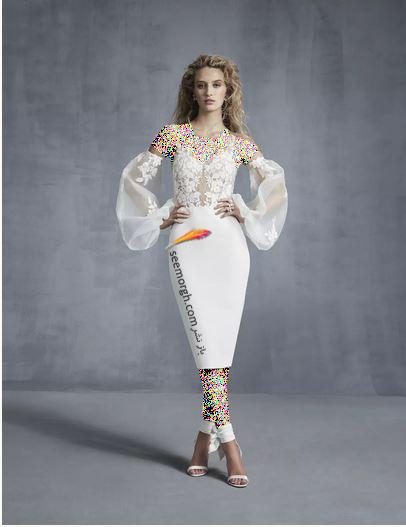 مدل لباس عروس ترند پاییز 2020 در دنیای مد - مدل شماره 3,لباس عروس,مدل لباس عروس,لباس عروس پاییزی
