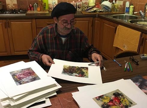 نقاشی های حمید جبلی