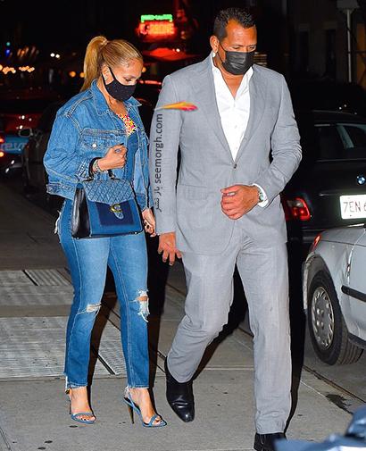 ست کردن شلوار جین به سبک جنیفر لوپز Jennifer Lopez برای پاییز 2020 - ست شماره 2,شلوار جین,ست کردن شلوار حین,ست کردن شلوار جین به سبک جنیفر لوپز,ست کردن شلوار جین برای پاییز