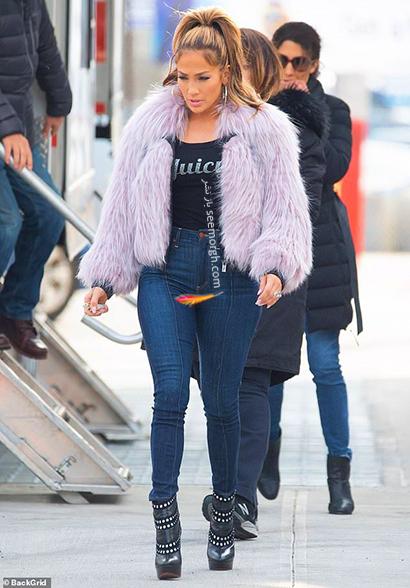 ست کردن شلوار جین به سبک جنیفر لوپز Jennifer Lopez برای پاییز 2020 - ست شماره 6,شلوار جین,ست کردن شلوار حین,ست کردن شلوار جین به سبک جنیفر لوپز,ست کردن شلوار جین برای پاییز