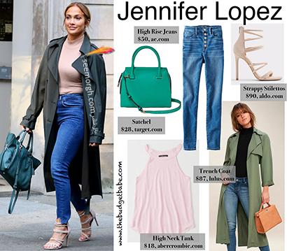 ست کردن شلوار جین به سبک جنیفر لوپز Jennifer Lopez برای پاییز 2020 - ست شماره 5,شلوار جین,ست کردن شلوار حین,ست کردن شلوار جین به سبک جنیفر لوپز,ست کردن شلوار جین برای پاییز