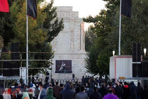 مراسم تشییع پیکر استاد محمدرضا شجریان در توس