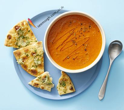 طرز تهیه سوپ گوجه فرنگی پاییزی