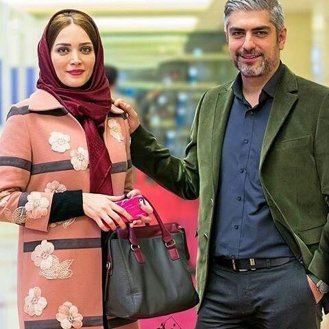 مهدی پاکدل و همسر اولش بهنوش طباطبایی