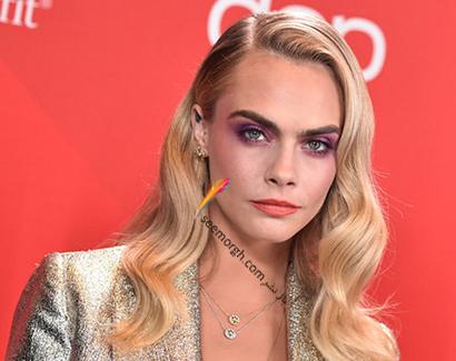 بهترین آرایش صورت در American music awards 2020 - کارا دلوین cara delevingne,آرایش,مدل آرایش,آرایش صورت,مدل آرایش صورت,بهترین مدل آرایش صورت,بهترین مدل آرایش
