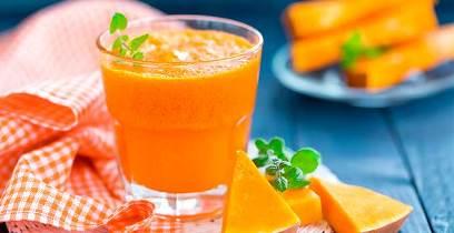 نوشیدنی هویج و کدو تنبل,نوشیدنی پاییزی