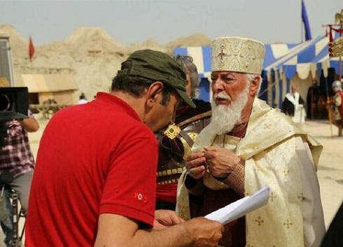 چنگیز جلیلوند در پشت صحنه سریال سلمان فارسی