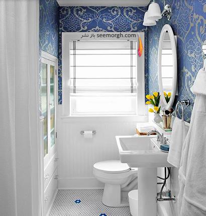 ترکیب رنگ آبی کلاسیک با رنگ سفید,در دکوراسیون داخلی چه رنگ هایی را می توانیم با رنگ آبی ست کنیم؟,9 ترکیب زرق و برق دار با رنگ آبی برای دکوراسیون داخلی