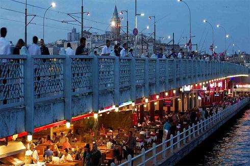 رستوران های محلی پایین پل گالاتا استانبول
