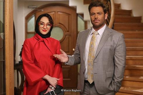 محمدرضا گلزار و هانیه توسلی در عاشقانه 2 (گیسو)