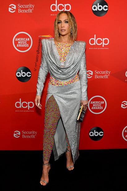 مدل لباس های برتر در American music awards 2020 -  جنیفر لوپز Jennifer Lopez ,مدل لباس,مدل لباس در American Music Awards