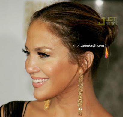 بهترین مدل گوشواره به انتخاب جنیفر لوپز Jennifer Lopez - مدل شماره 8,جنیفر لوپز,گوشواره,مدل گوشواره,مدل گوشواره به سبک جنیفر لوپز,گوشواره جنیفر لوپز