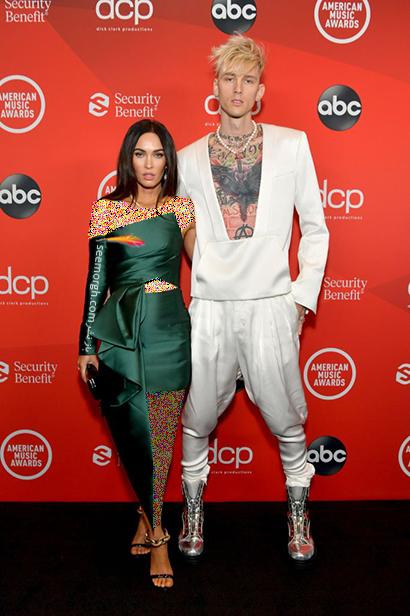 مدل لباسهای برتر در American music awards 2020 - مگان فاکس Megan Fox,مدل لباس,مدل لباس در American Music Awards