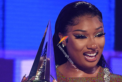 بهترین آرایش صورت در American music awards 2020 -  مگان دی استالین Megan Thee Stallion,آرایش,مدل آرایش,آرایش صورت,مدل آرایش صورت,بهترین مدل آرایش صورت,بهترین مدل آرایش