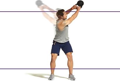 آب کردن چربی پهلو با حرکت اسکات با کتل بل Kettlebell Twist Squats,آب کردن چربی پهلو با 10 دقیقه ورزش,10 دقیقه ورزش برای آب کردن پهلو