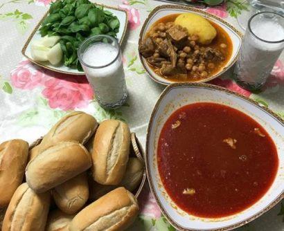 طرز تهیه نخودآب,نخودآب یک غذای مقوی مخصوص بیماران کرونایی