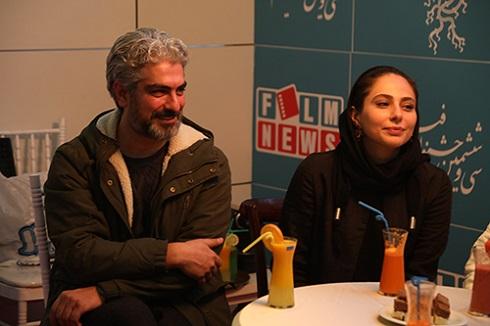 مهدی پاکدل و رعنا آزادی ور در جشنواره فجر