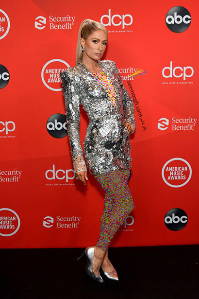 بهترین مدل لباس در American music awards 2020 - پاریس هیلتون Paris Hilton,مدل لباس,مدل لباس در American Music Awards