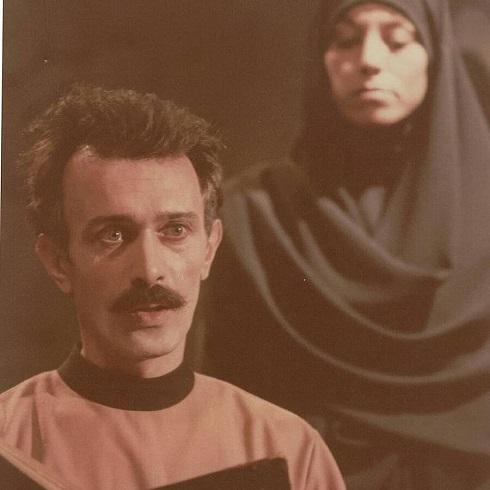 پرویز پورحسینی در جوانی