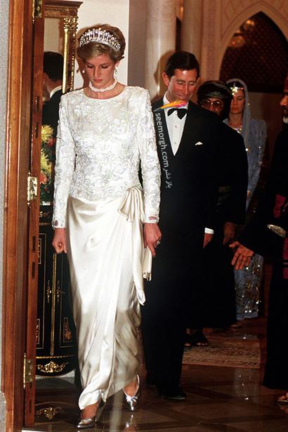 مدل لباس پرنسس دایانا Diana سال 1986,10 مدل لباس شگفت انگیز پرنسس دایانا Diana در دنیای مد,پرنسس دایانا,مدل لباس پرنسس دایانا