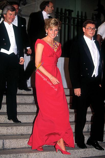 مدل لباس پرنسس دایانا Diana سال 1990,10 مدل لباس شگفت انگیز پرنسس دایانا Diana در دنیای مد,پرنسس دایانا,مدل لباس پرنسس دایانا