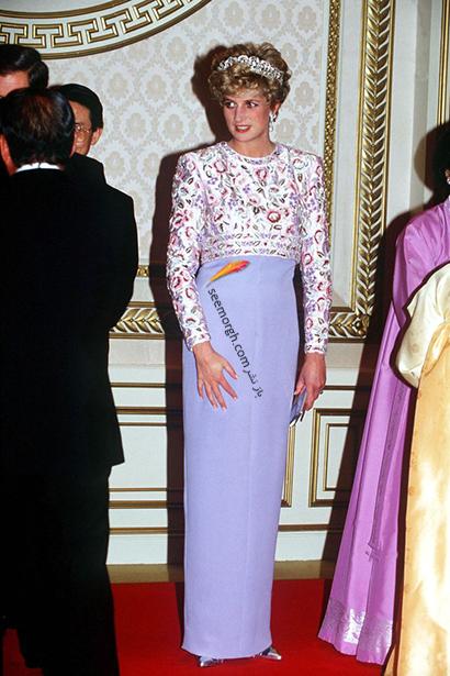 مدل لباس پرنسس دایانا Diana سال 1992,10 مدل لباس شگفت انگیز پرنسس دایانا Diana در دنیای مد,پرنسس دایانا,مدل لباس پرنسس دایانا