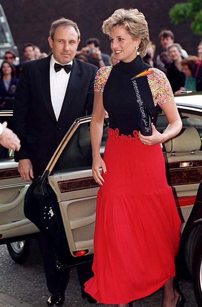 مدل لباس پرنسس دایانا Diana سال 1995,10 مدل لباس شگفت انگیز پرنسس دایانا Diana در دنیای مد,پرنسس دایانا,مدل لباس پرنسس دایانا
