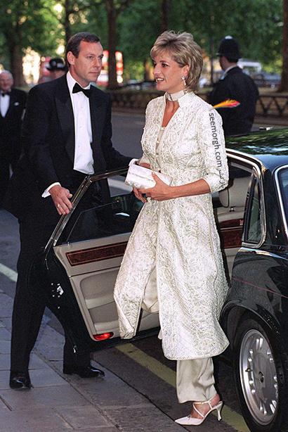 مدل لباس پرنسس دایانا Diana سال 1996,10 مدل لباس شگفت انگیز پرنسس دایانا Diana در دنیای مد,پرنسس دایانا,مدل لباس پرنسس دایانا