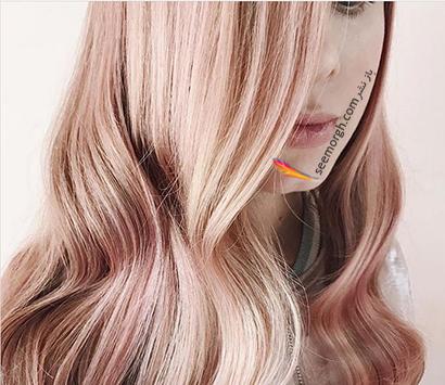 رنگ مو رزگلد روشن,رنگ مو رزگلد، پرطرفداترین رنگ مو برای پاییز 2020