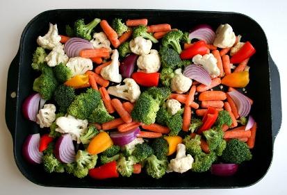 خوش مزه کردن سبزیجات در رژیم لاغری با چند پیشنهاد ساده,راههای ساده برای خوش طعم کردن سبزیجات