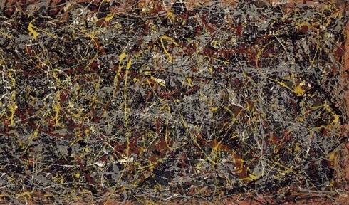 نقاشی «شماره ۵» اثر «جکسون پولاک» ۱۹۴۸