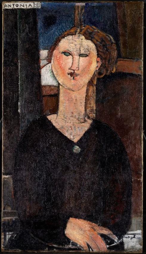 نقاشی آنتونیا اثر مودیلیانی