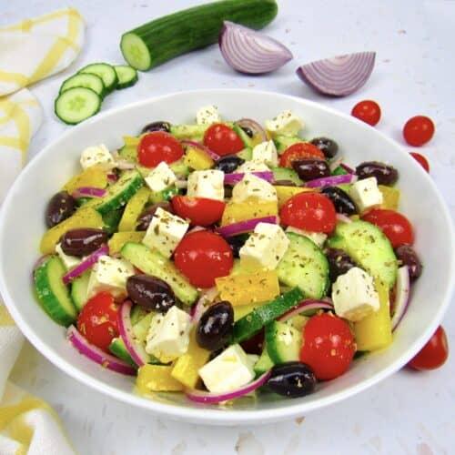طرز تهیه سالاد سبزیجات رژیمی,سالاد سبزیجات رژیمی برای کسانی که رژیم لاغری دارند