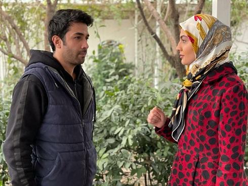 حسین مهری و مریم مومن در سریال هم بازی