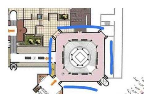 نقشه هوایی موزه هنرهای معاصر