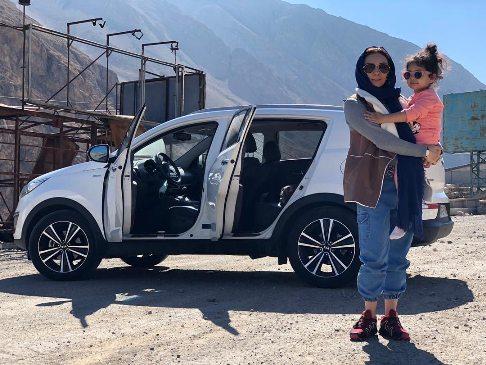 عکس یکتا ناصر و دخترش